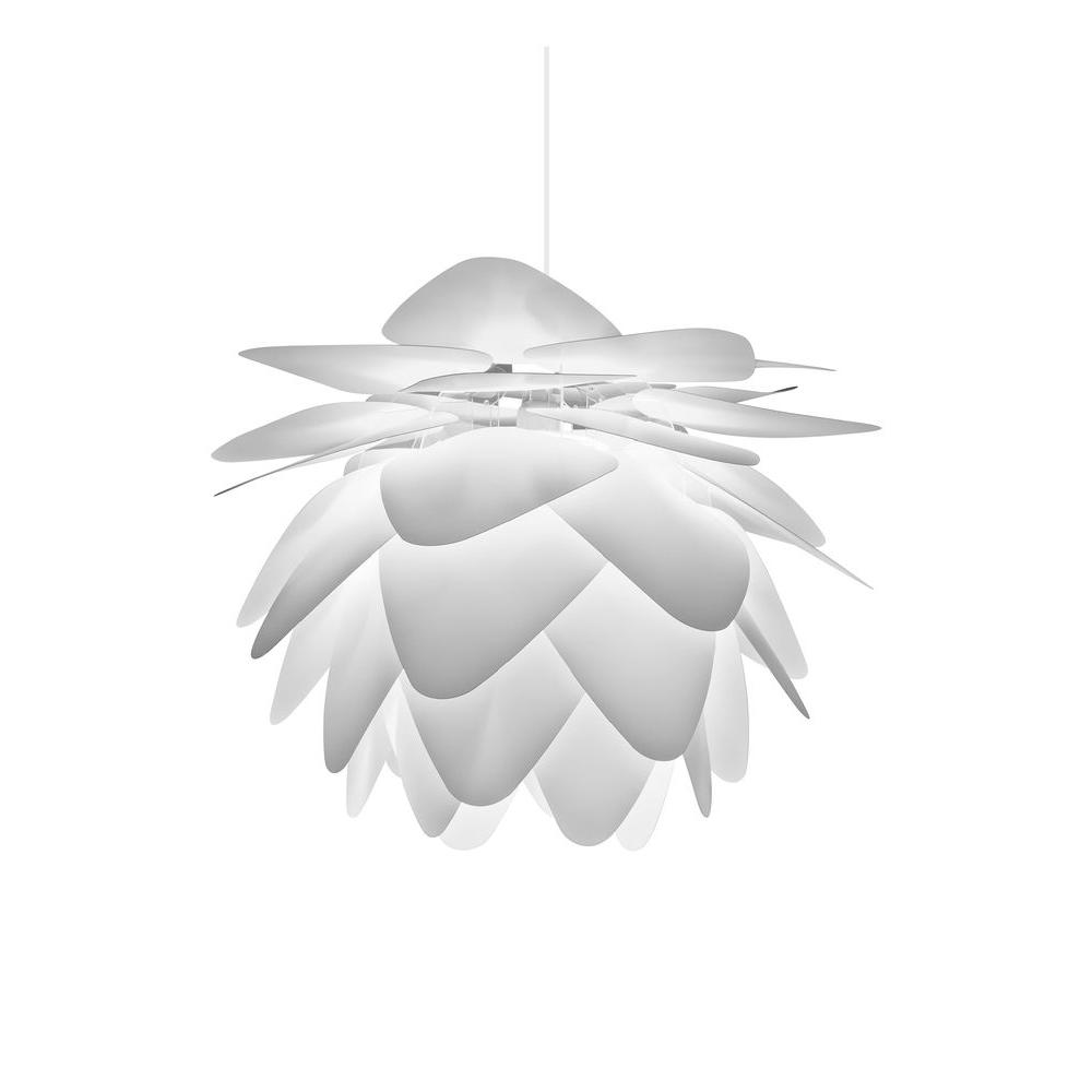 Pineapple Leaf 1 Light White Pendant 13505 The Home Depot White Pendant Modern Pendant Light Modern Chandelier