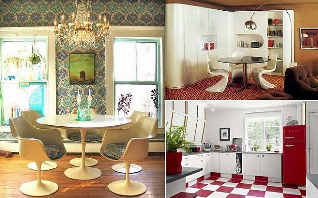 Inspiring retro dinning spaces