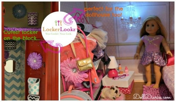 Locker Decorations That Double As Doll House Decor With
