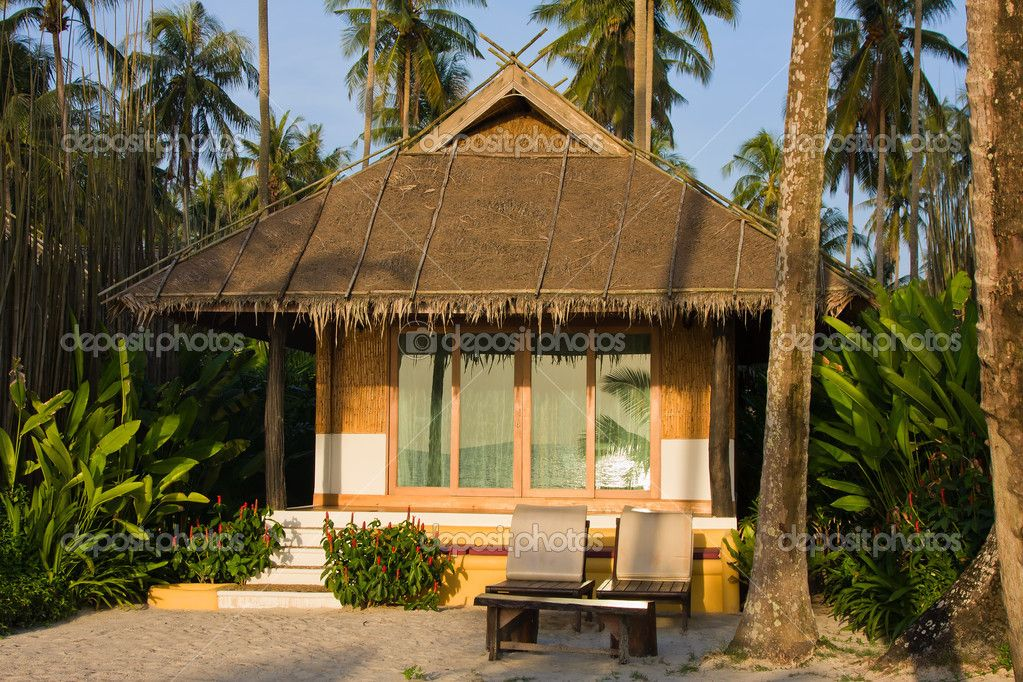 Tropical Beach Cottage