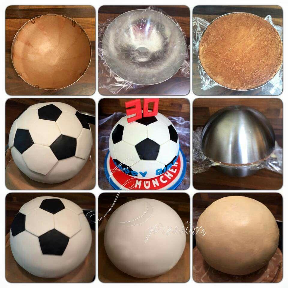 Fussballtorte Fussball Kuchen Fussball Torte Geburtstag Torte Junge