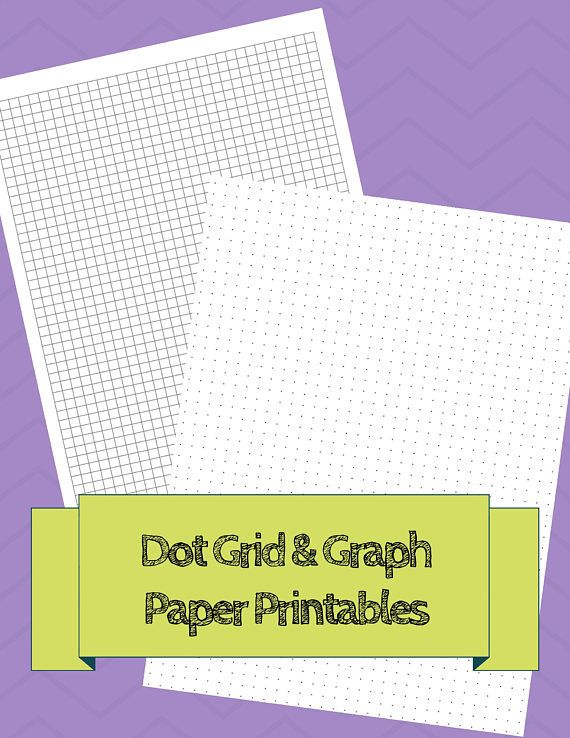 Bullet Journal Printable Grid Printable Dot Grid layout to Unique