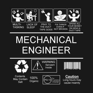 Mechanical Engineering T Shirts Teepublic Desain Logo Kaos Desain