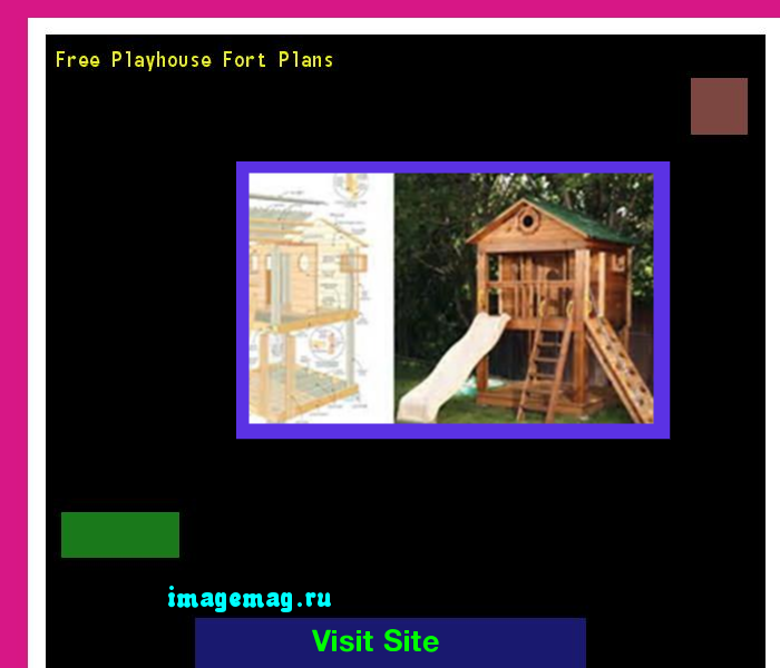 Free Playhouse Fort Plans 173112 - The Best Image Search