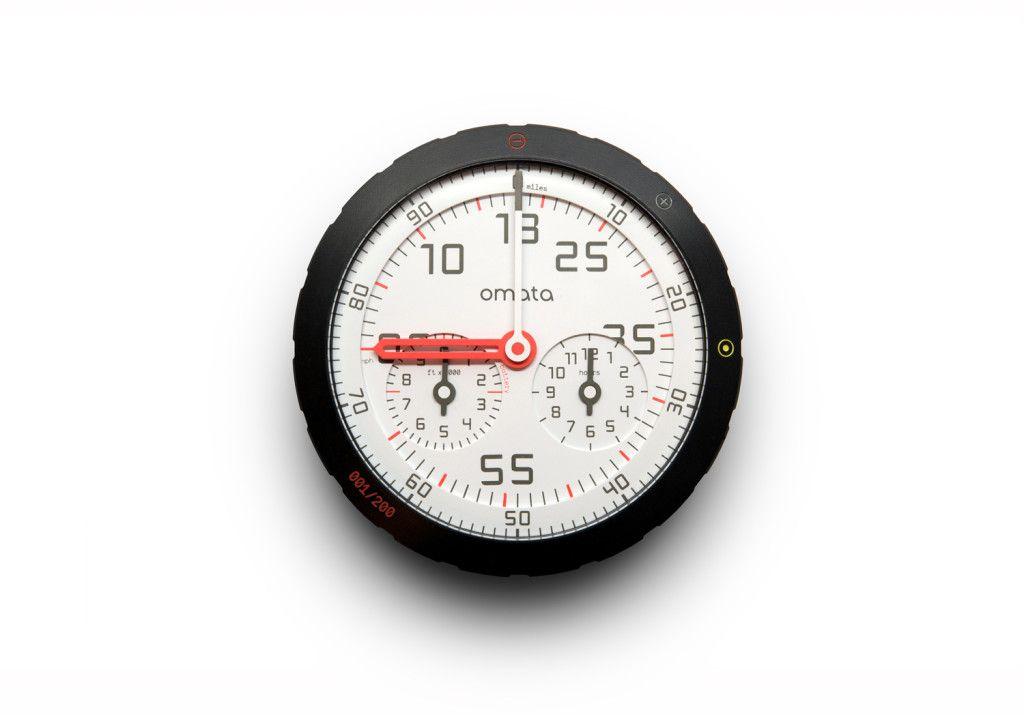 Beautiful Analog Bike Speedometer Hides 21st Century Guts 自転車 スピードメーター デザイン