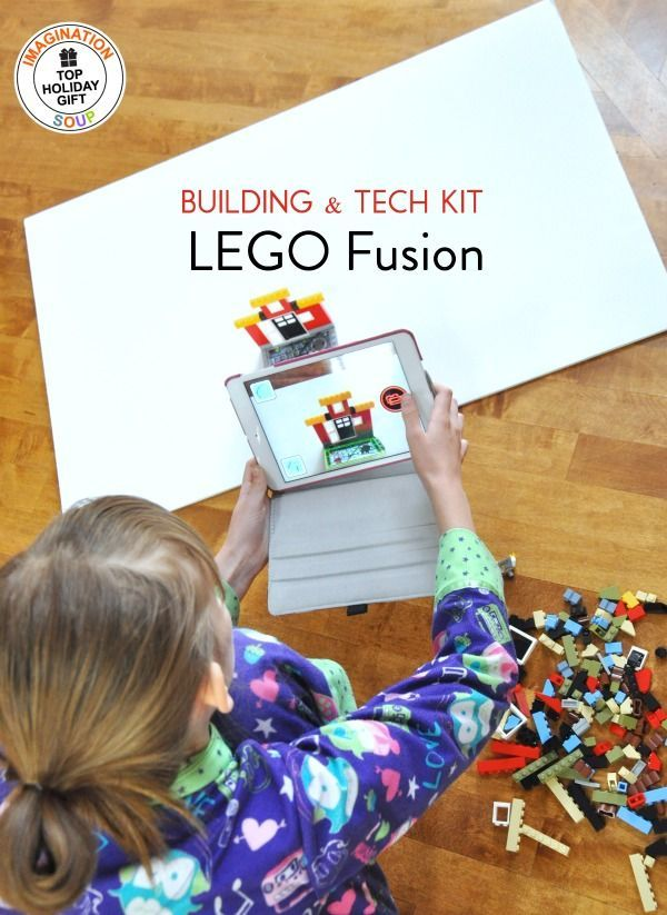 Remarkable LEGO Fusion Building and Tech Toy | Tech toys, Lego and Toy