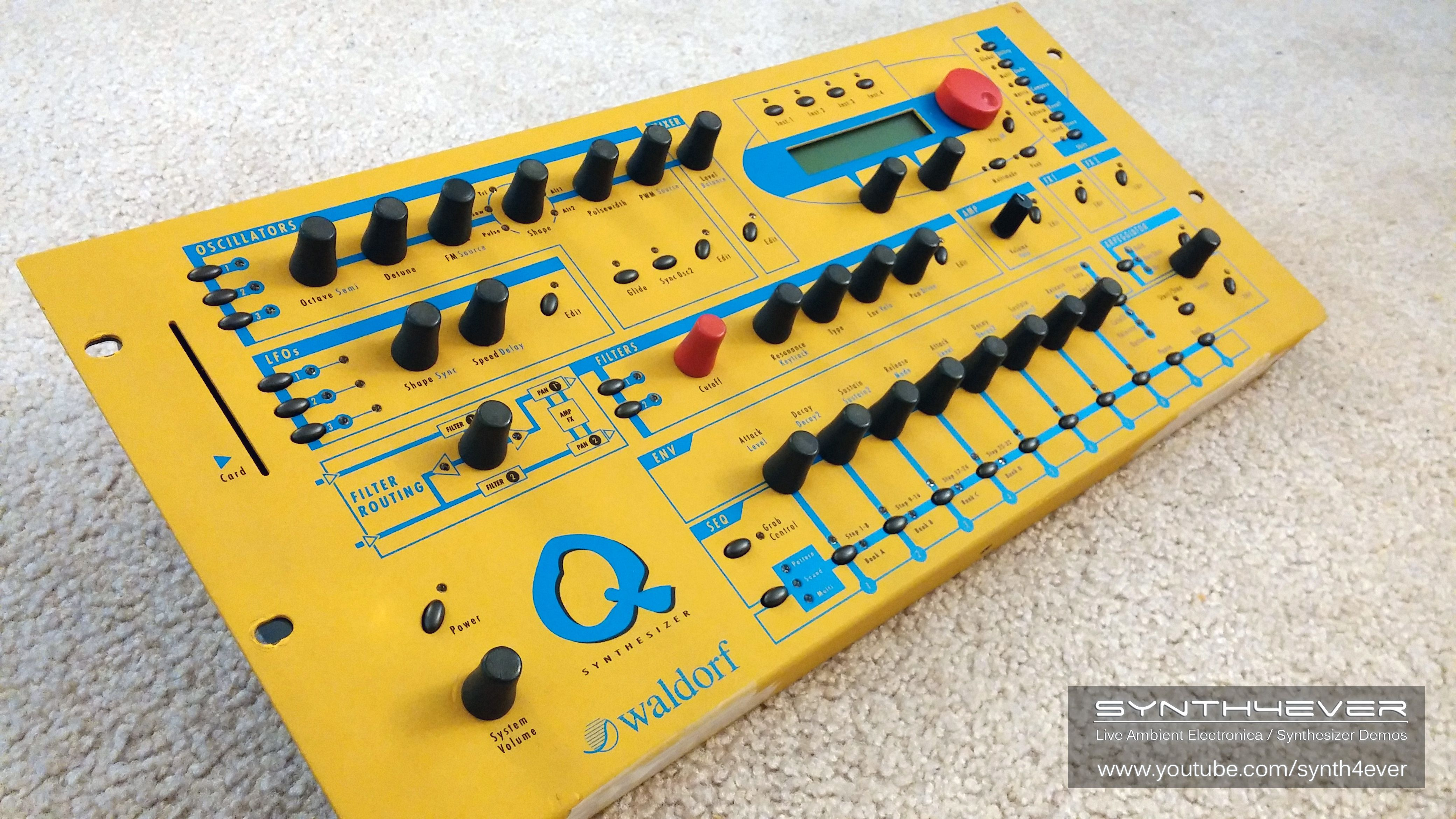 Waldorf Q synthesizer  http://youtube.com/synth4ever
