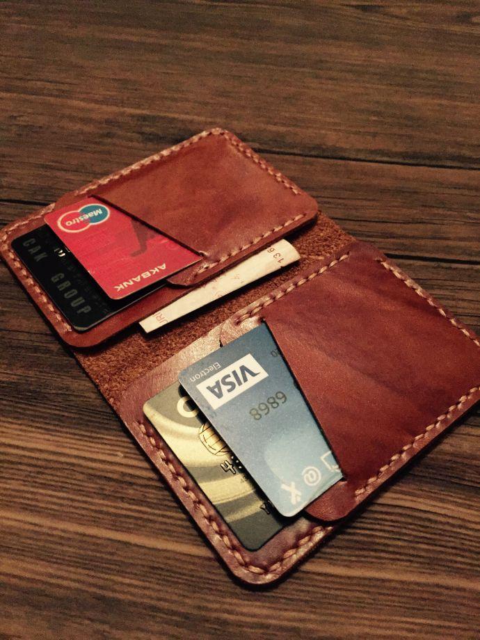 El yapımı cüzdan kartlık #leatherwallets