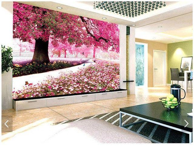 3D wallpaper pink tree - Google-søk | wallpaper | Pinterest | Pink ...
