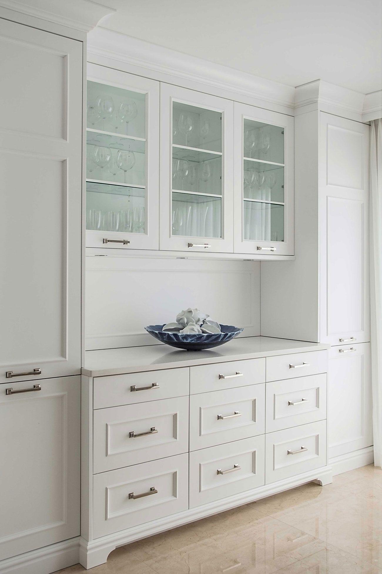 Cuisine Au Design Classique Dining Room Cabinet Dining Room Storage Dining Room Remodel