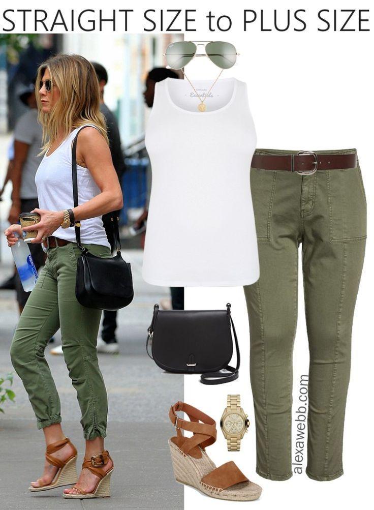 Taille droite à taille plus – Pantalon tout usage