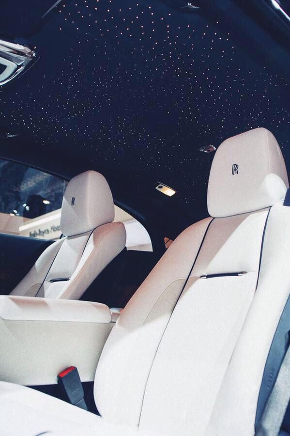 Night sky ceiling in the rolls