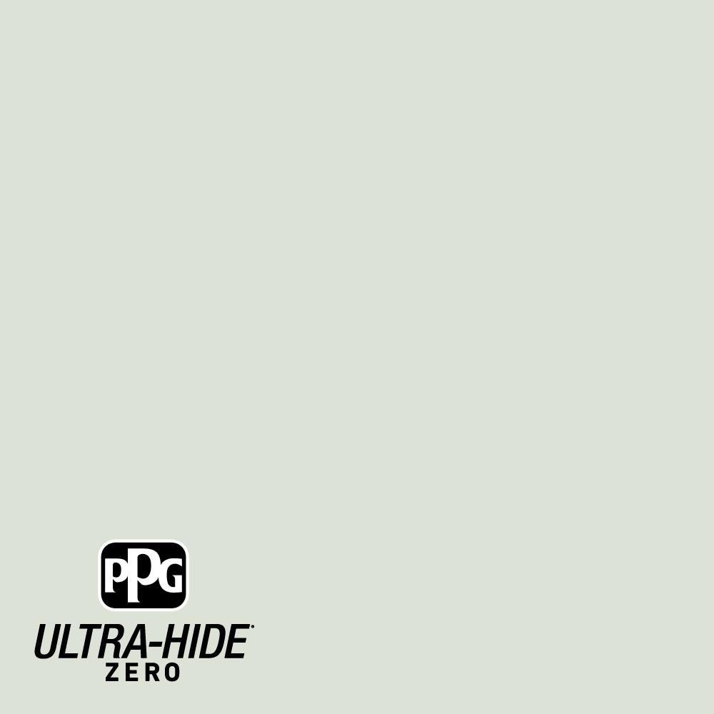 Ppg Ultra Hide Zero 5 Gal 1033 1 Salty Breeze Flat Interior Paint In 2020 Interior Paint Paint Designs Flat Interior