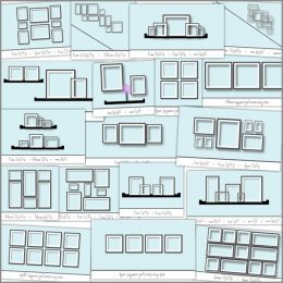 Photo Wall layout ideas