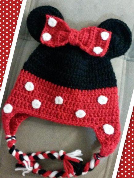 Gorro Minie | crochet | Pinterest | Haube häkeln, Mütze baby und Mütze