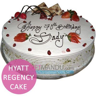 Pineapple cake from Hyatt Regency Kathmandu  Available to