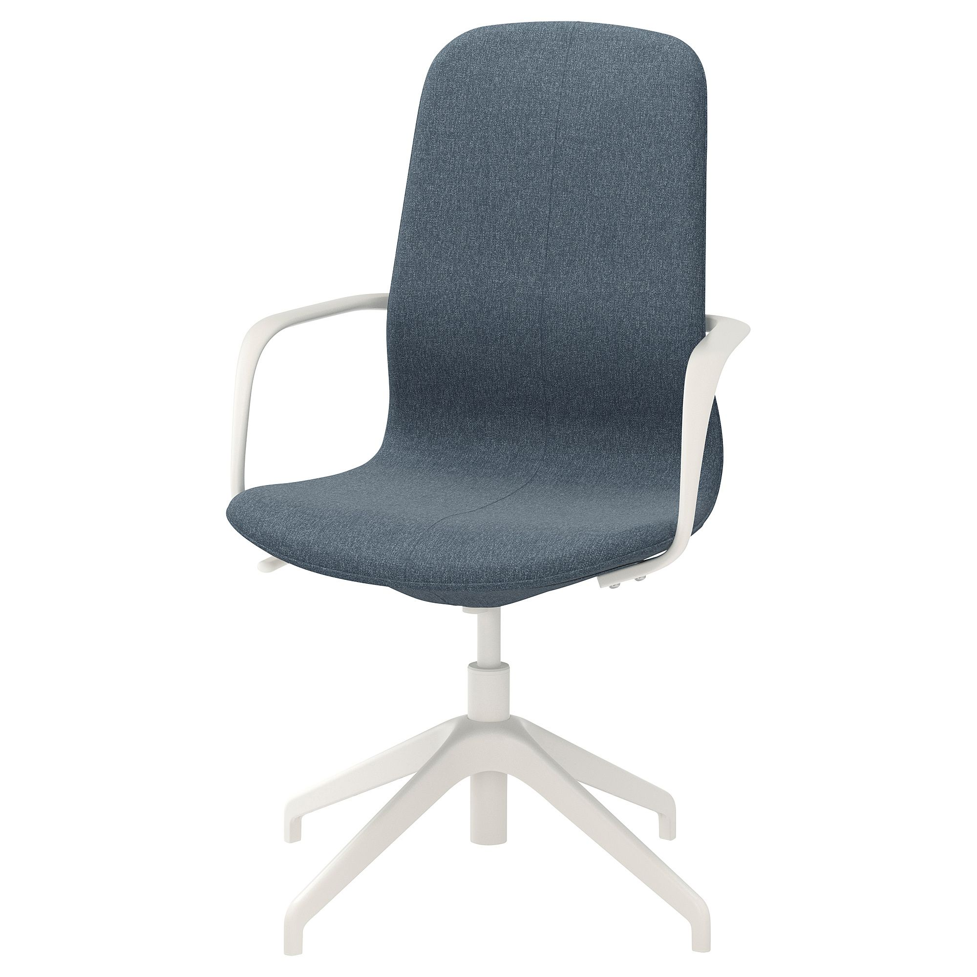 white, Chair with armrests IKEA
