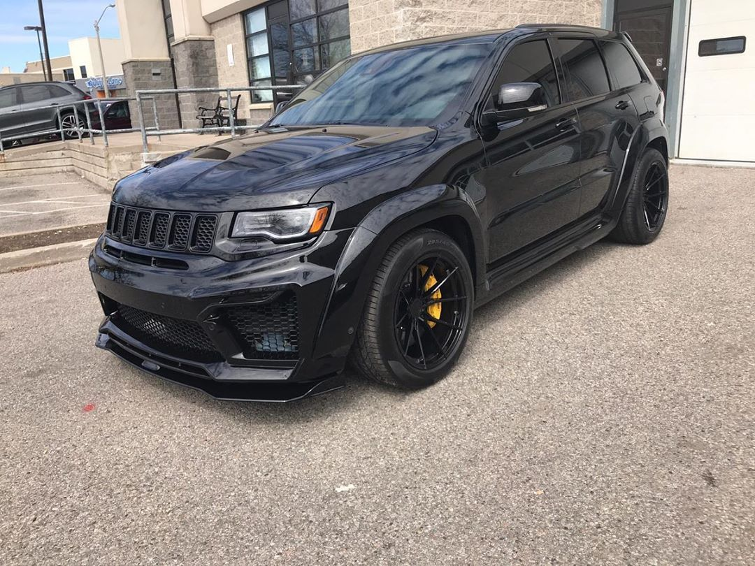 Tuning Body Kits Forged Wheels V Instagram Jeep Gc Trackhawk