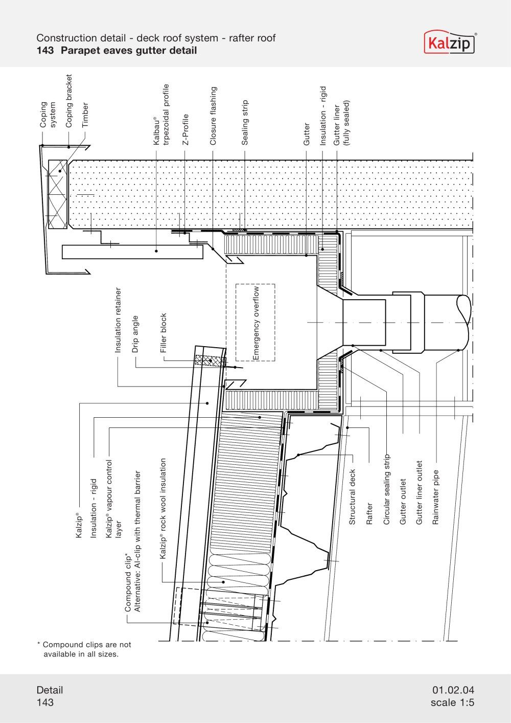 kalzip-construction-details | water collection | Pinterest | Haus ...
