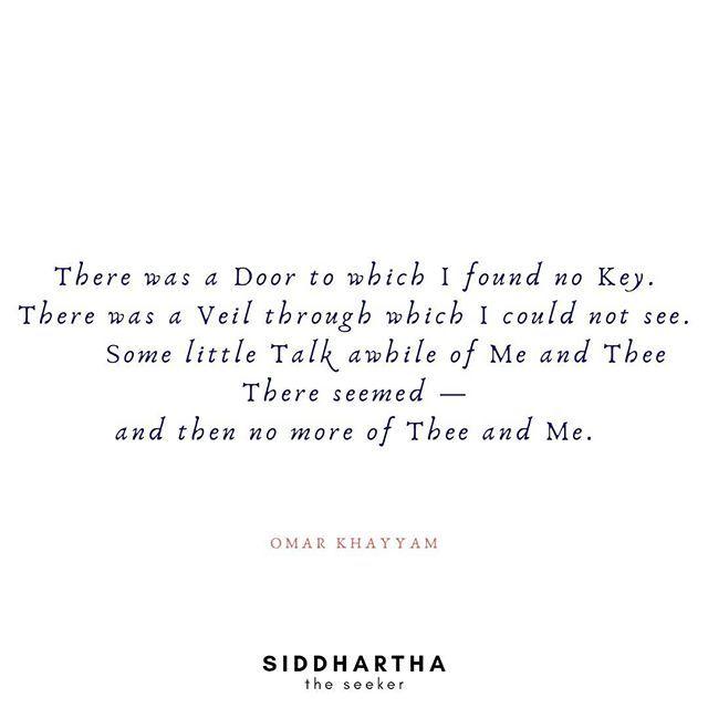 Words Of Wisdom By #omarkhayyam #rubaiyat #Peace #Mindful