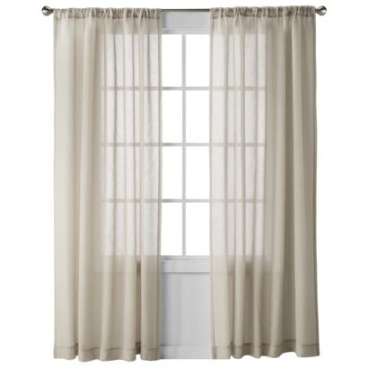 These Are Our Curtains Nate Berkus Heathered Herringbone