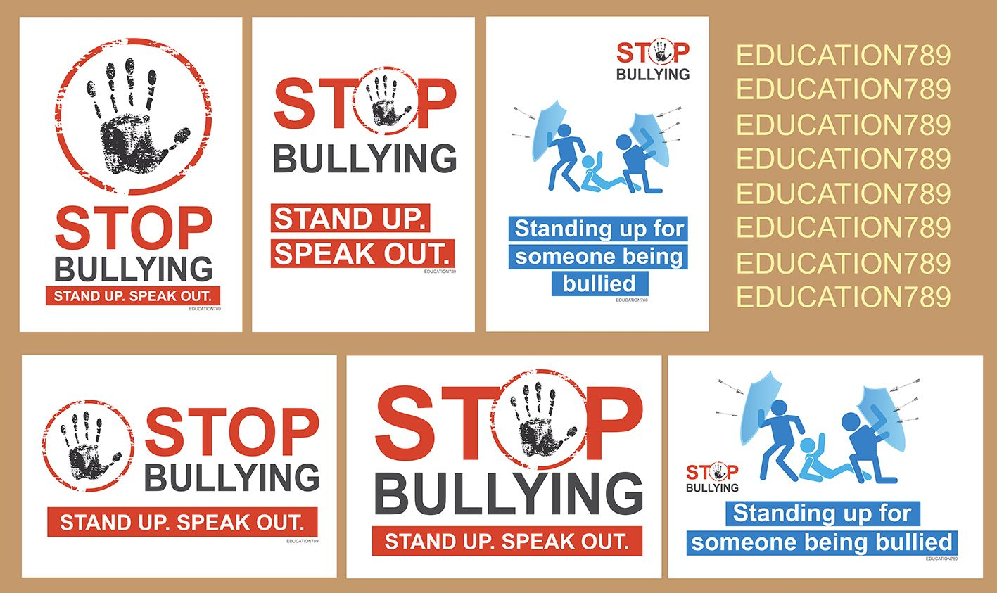 Free Bullying Prevention Posters For Schools Free