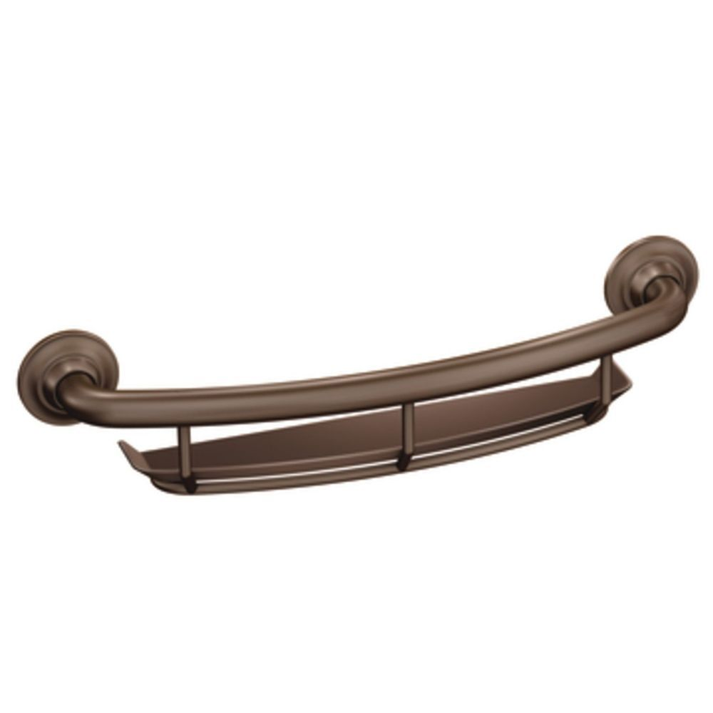 Bronze Bathroom Shower Bath Grab Bar Shelf Storage Safety Rail ...