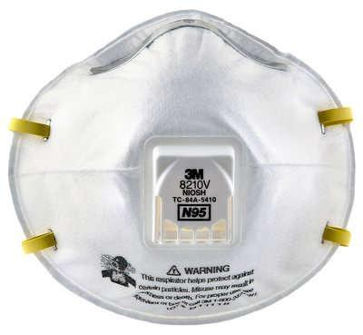 10 With 8210v Particulate Valve Cool N9 3m™ Flow Respirator box