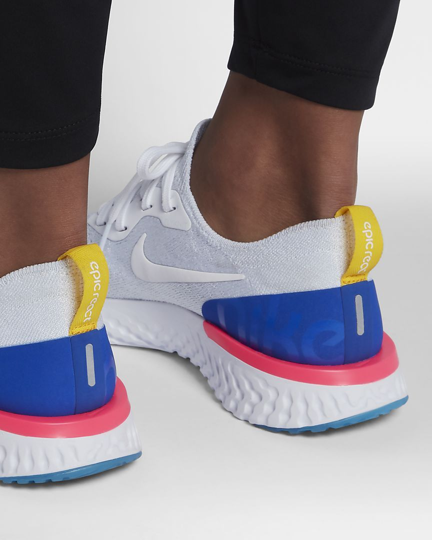 Nike Epic React Flyknit Women's Running Shoe wish list Pinterest
