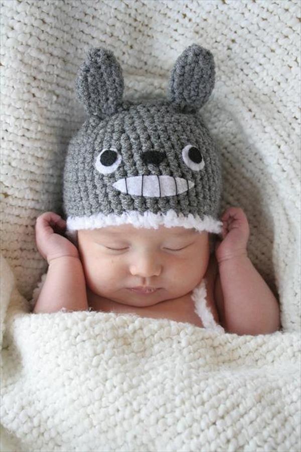 Totoro Crochet Hat Pattern For Kids Crochet Pinterest Totoro