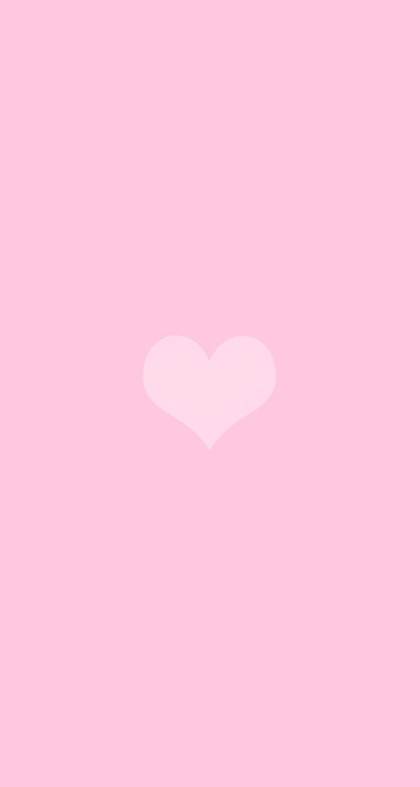 Simple Cute Heart Wallpaper With Images Pink Wallpaper
