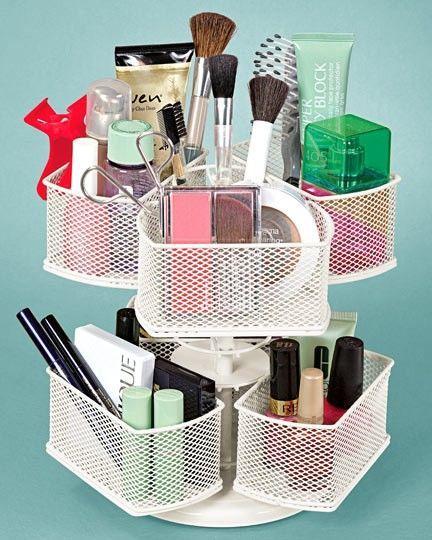 Superior Rotating Lazy Susan To Organize Makeup Diy Crafts Diy Ideas Organization  Organizing Makeup Organization Makeup Brushes
