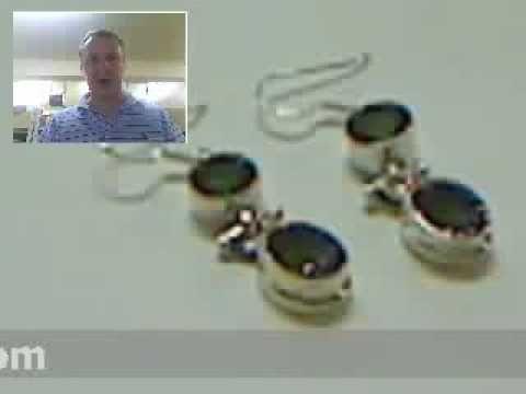 TraderLou.com Mystic Topaz Sterling Silver Earrings - http://videos.silverjewelry.be/earrings/traderlou-com-mystic-topaz-sterling-silver-earrings/