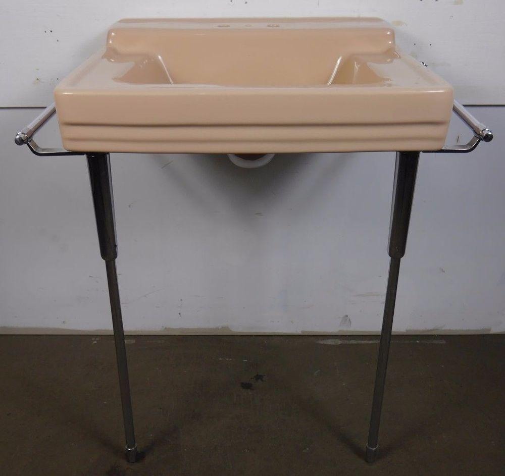 Antique Vintage American Standard Bathroom Sink Comrade