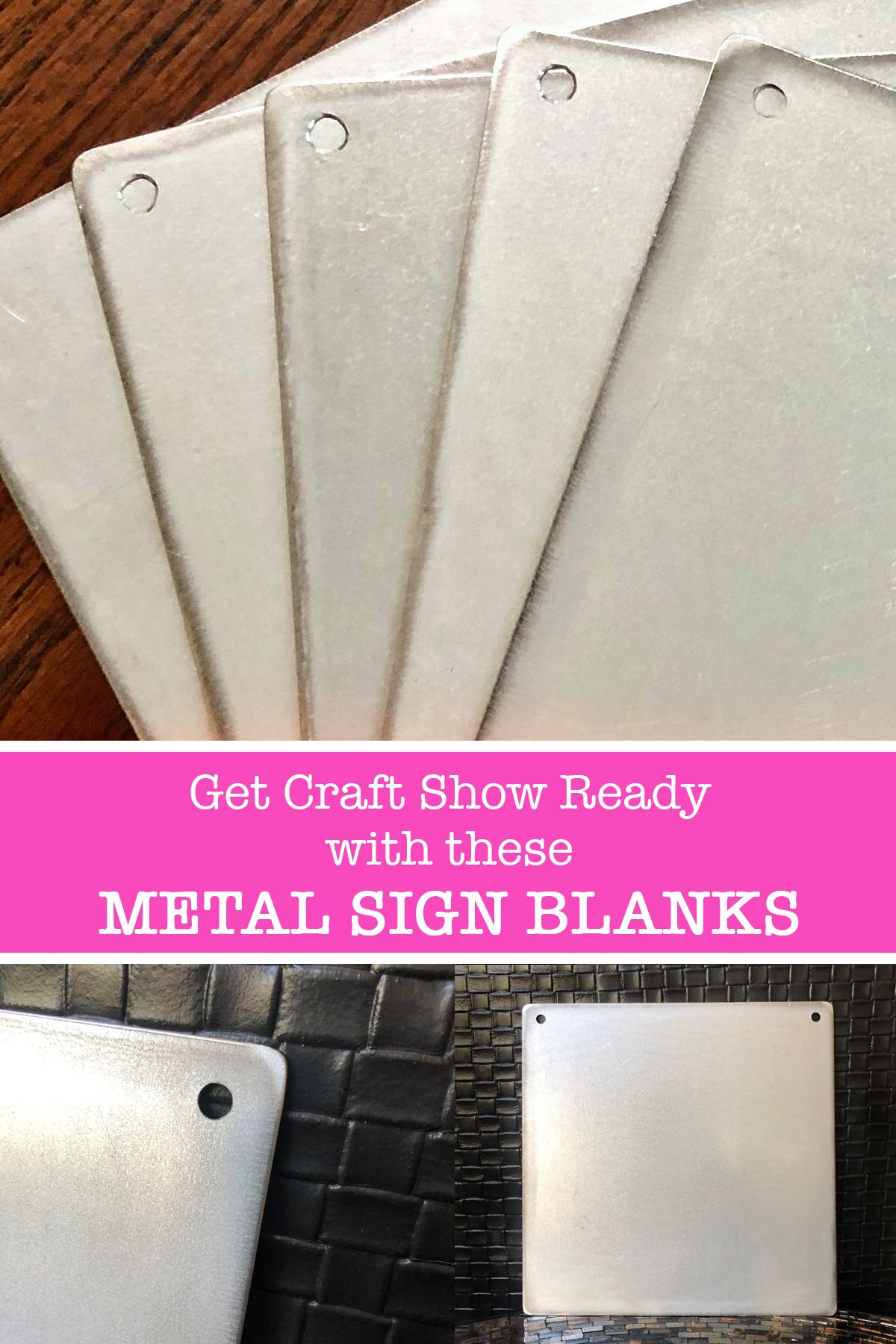 Get Creative With These Metal Sign Blanks What Sells On Etsy Metal Signs Vinyl Blanks