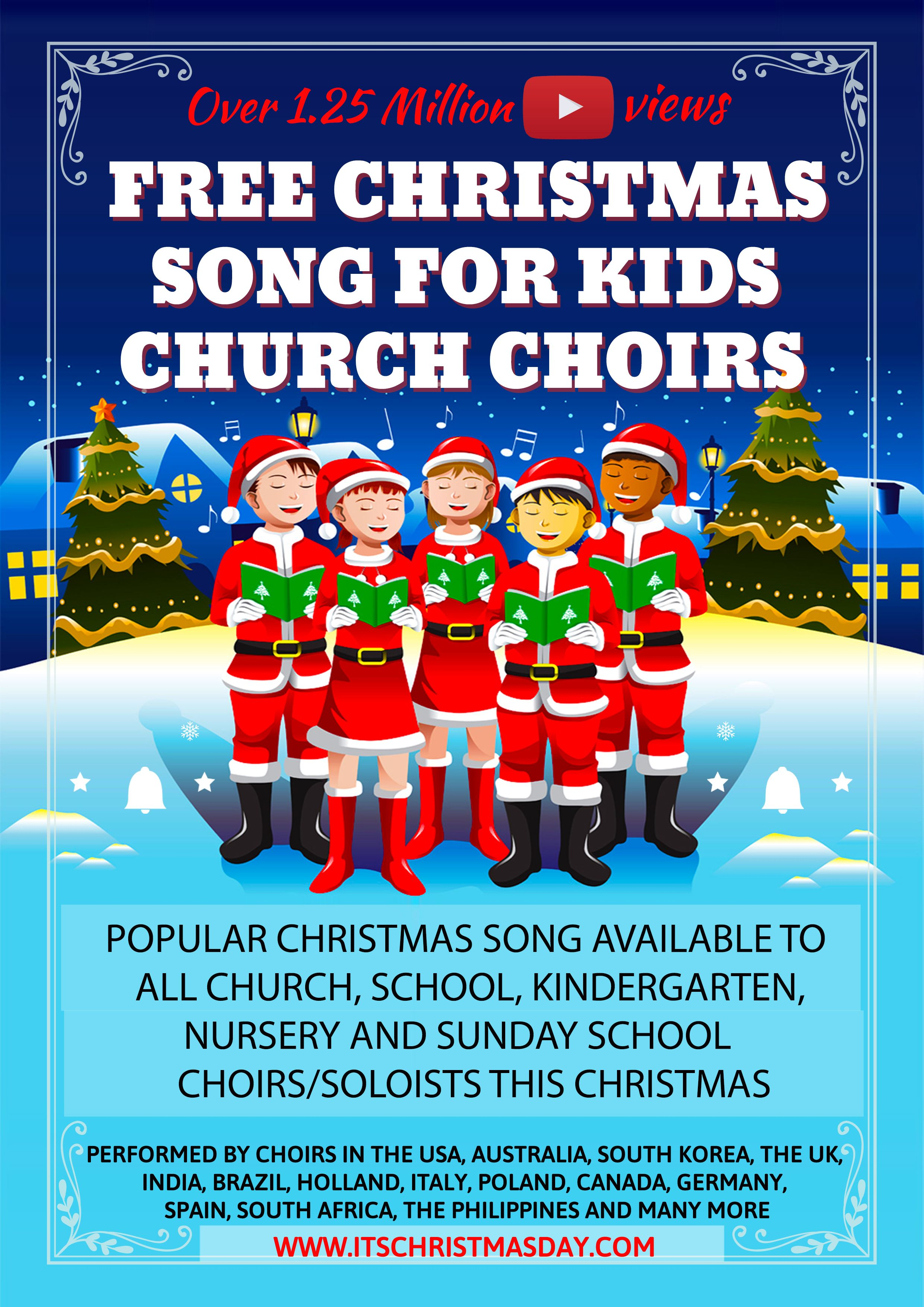 Free Christmas Song For Kids It's Christmas Day in 2020