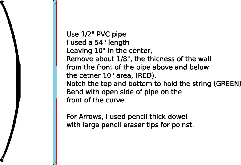 how to make a pvc bow pdf