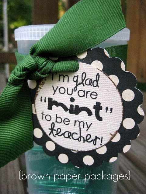 Great gift idea for teacher thank you
