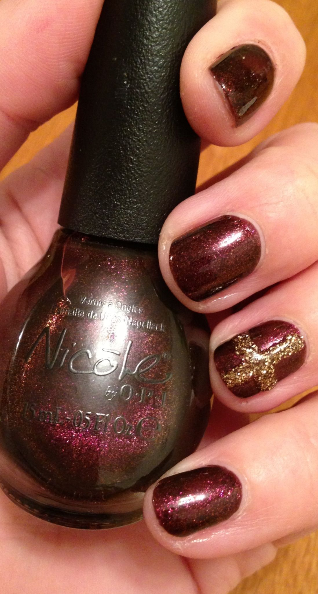 Nicole Shoot for the Maroon and a godly little church nail. | Nails ...
