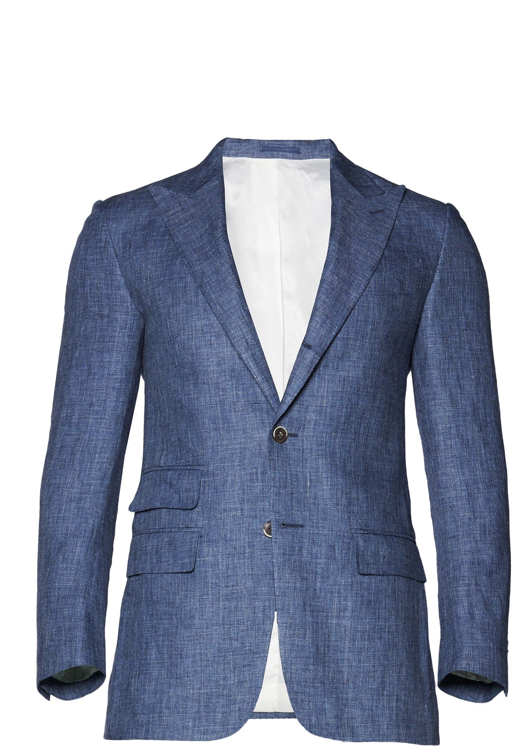 Blue linen jacket suit supply | Groom\'s attire | Pinterest | Linen ...