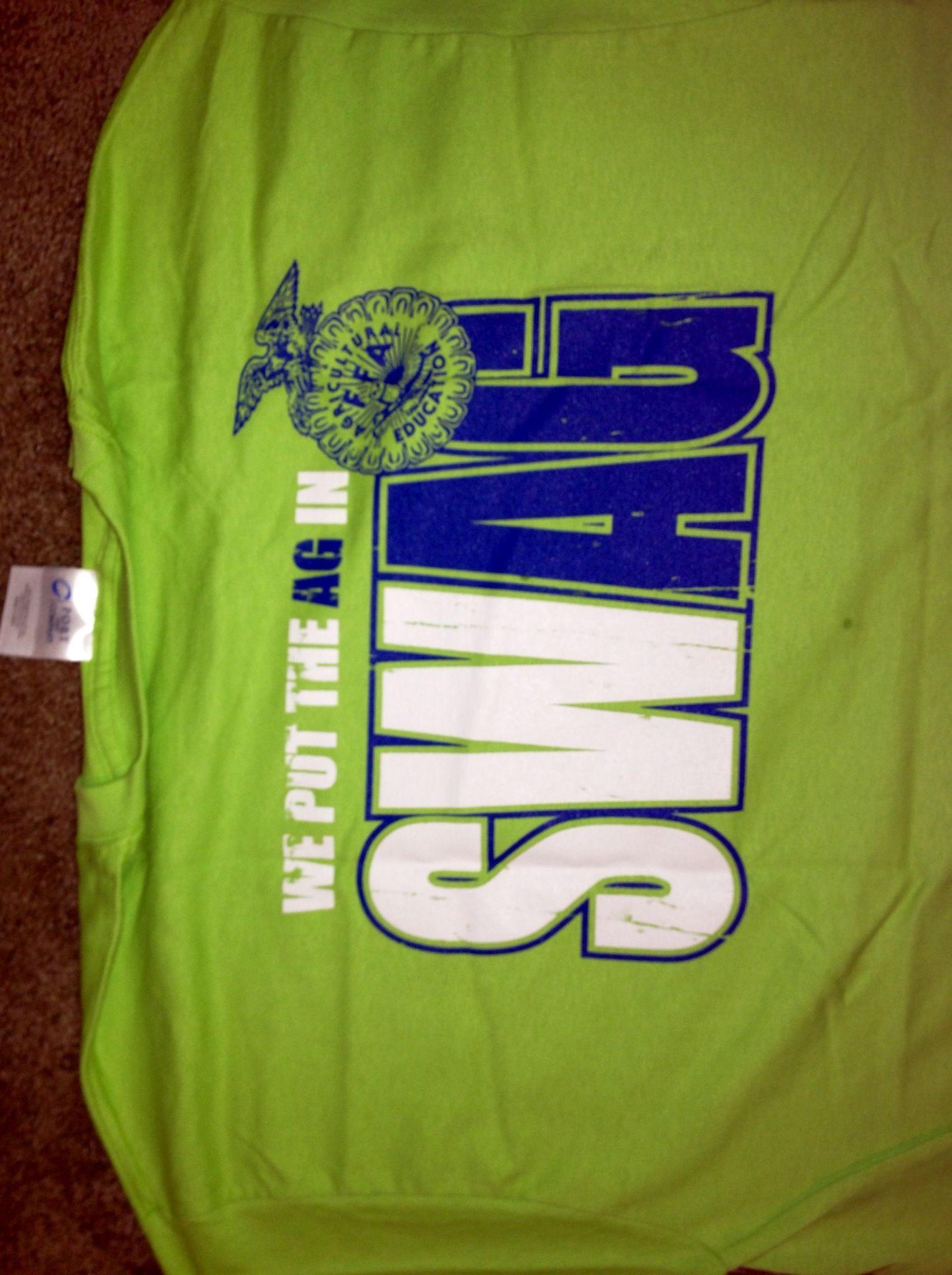 We put the Ag in SWAG! Need! Shirt designs, Ffa, Ffa