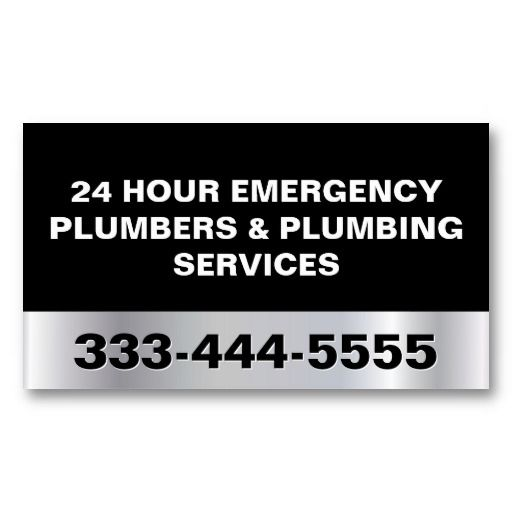 24 hour emergency plumbers plumbing services business card 24 hour emergency plumbers plumbing services business card templates colourmoves