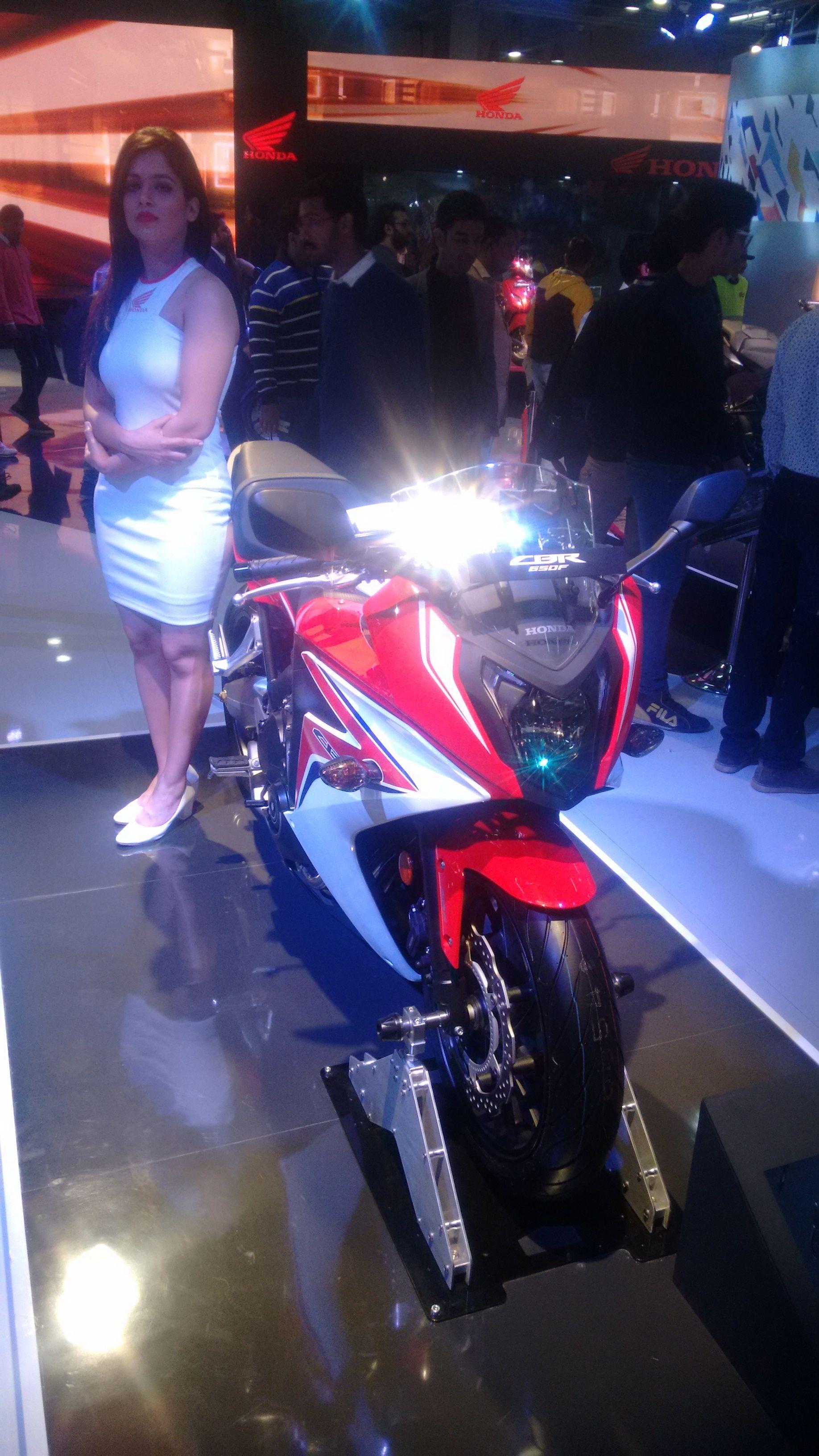 pinvikas on authorized honda motorcycle showroom in india
