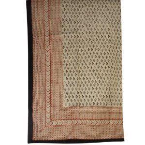 Weihnachten Bettwäsche Online, Baumwoll Bettücher mit Block Druck Heimtextilien 223 cm x 147 cm: Amazon.de: Küche & Haushalt
