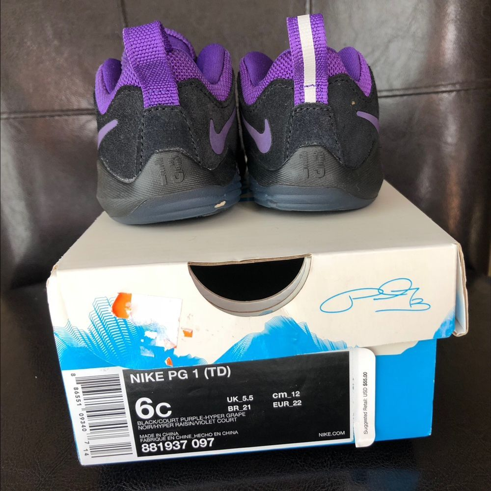 87fa97c1fe2f8 Shoes Infant Boys Nike Paul George Sz 6 #fashion #clothing #shoes ...