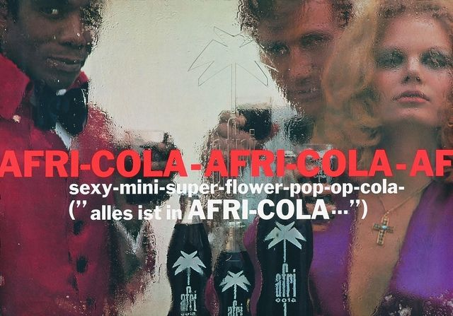 Wilp Charles De 1968 Afri Cola Plakat Afri Cola Plakat Und