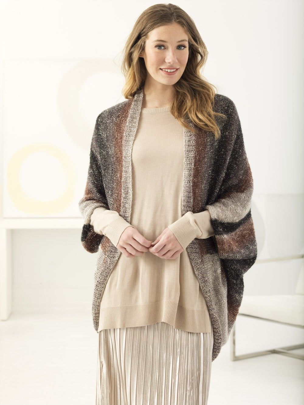 Date Night Shrug (Knit) | Knitting... Tops and Sweaters | Pinterest ...