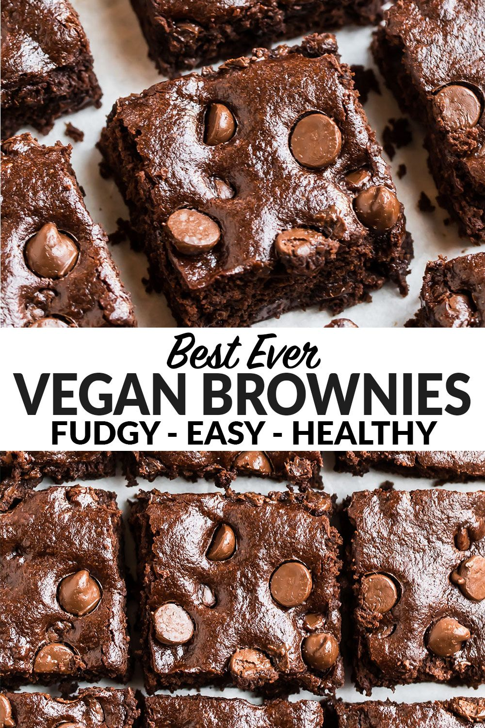 These Vegan Brownies Are The Best Brownie Recipe I Ve Ever Had Thick Most And Fudgy In 2020 Brownie Recipes Healthy Brownies Recipe Easy Fall Dessert Recipes Easy