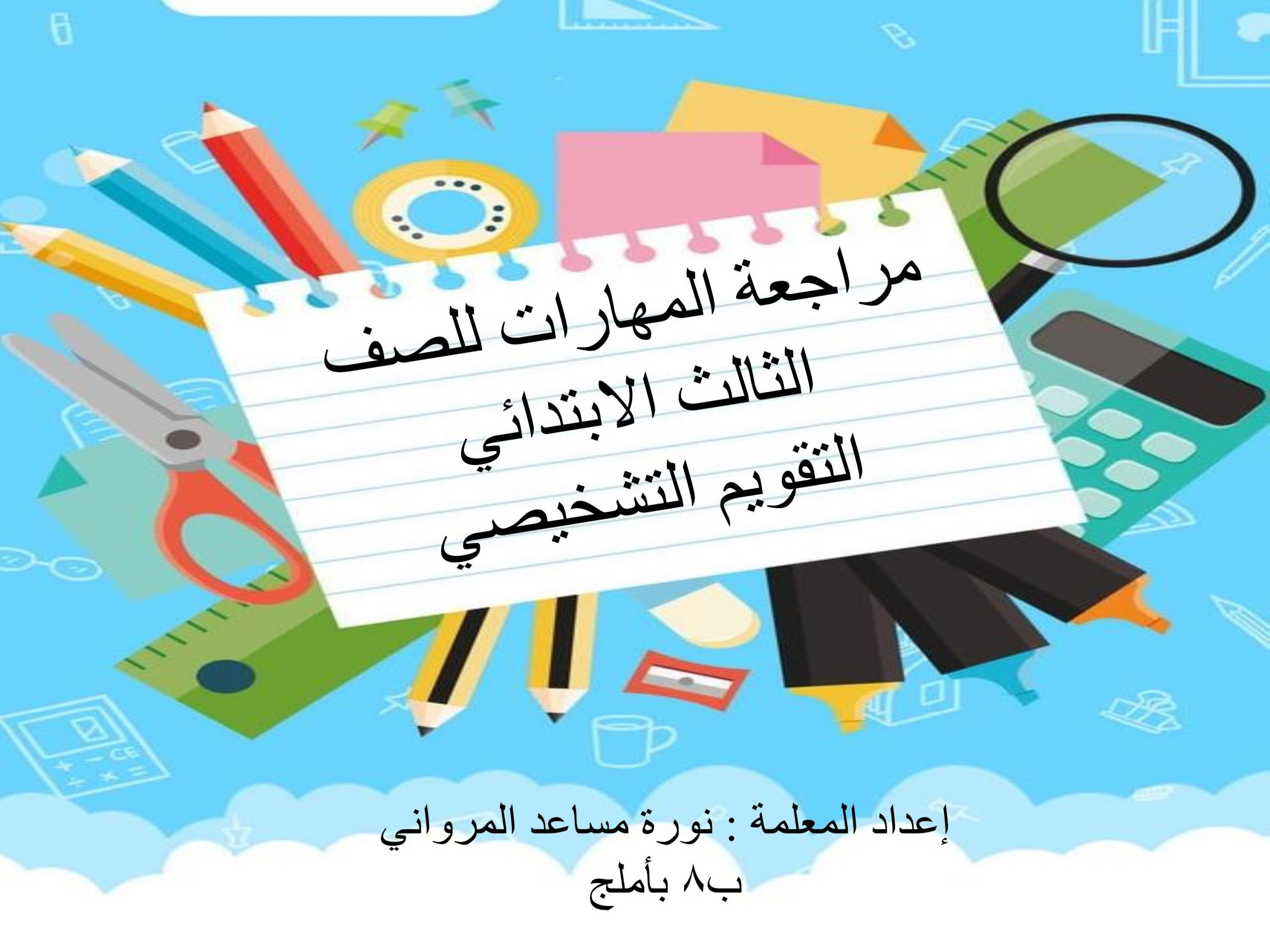 اللغة العربية بوربوينت يوم العيد لغير الناطقين بها للصف الثالث Arabic Calligraphy