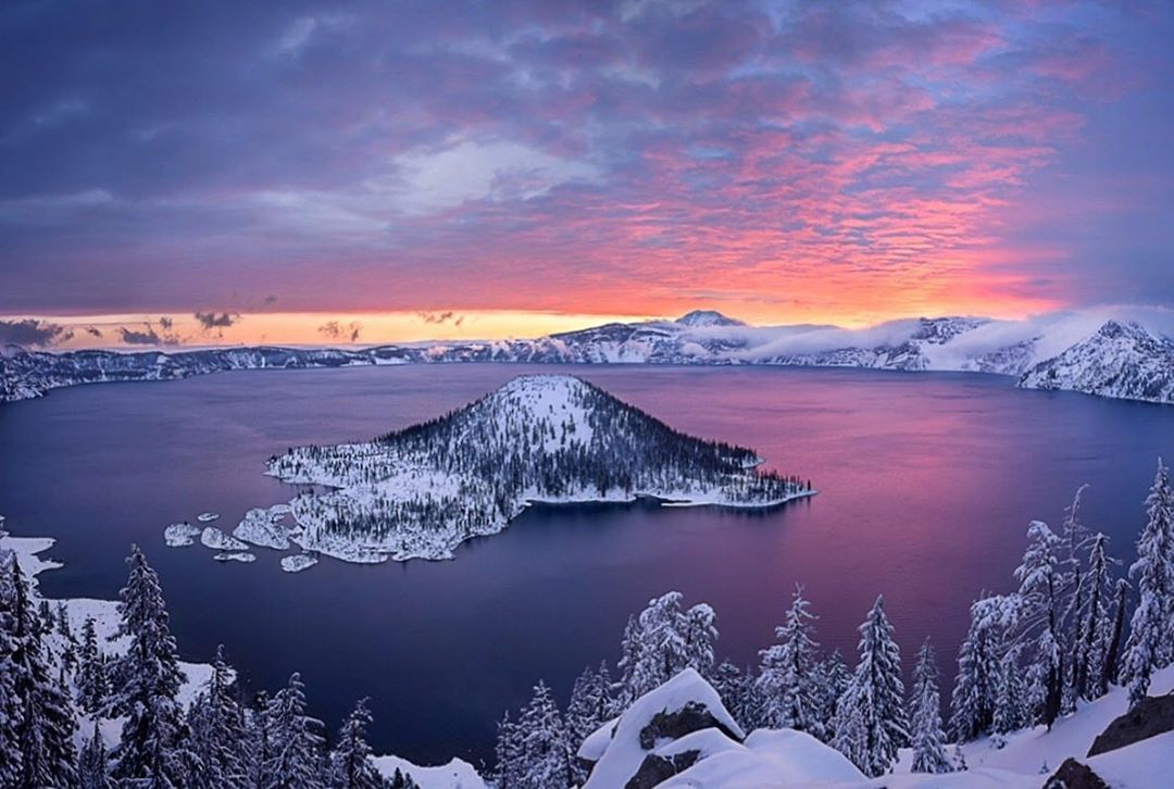 """Department of the Interior on Instagram: """"As it turns out, dreams really can come true-- especially if you're in search of incredible beauty at Crater Lake National Park in #Oregon.…"""""""